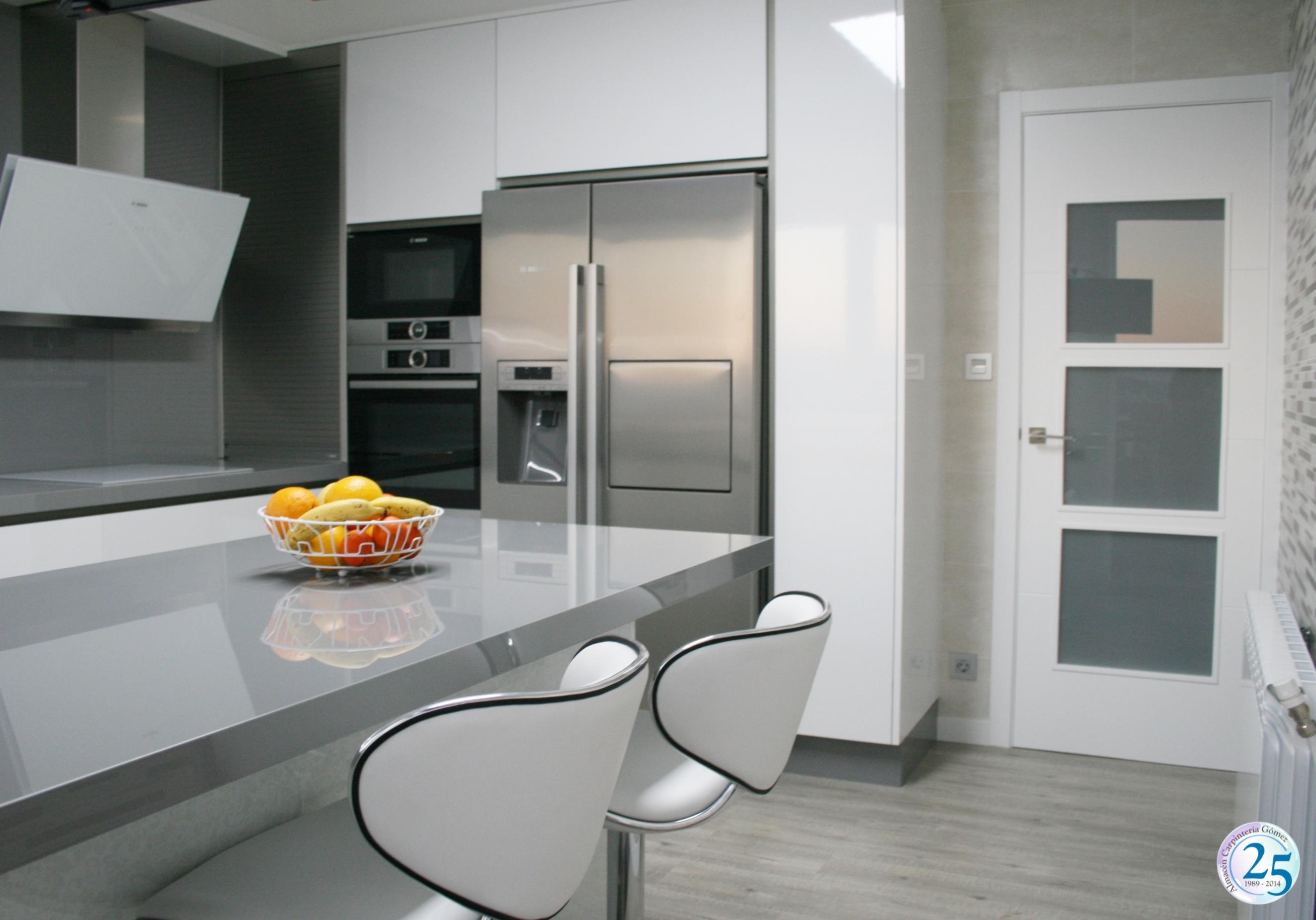 Cocina Formica AR+ Blanco